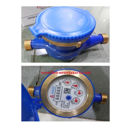 Jual Water Meter Amico 1/2 inch