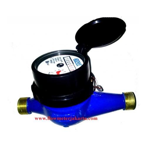 Jual Water Meter Onda 1/2 inch kuningan