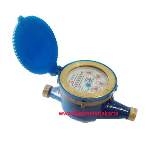 Jual Water Meter Bestini 15 mm Body Brass