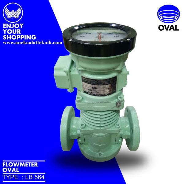 Oval flowmeter